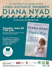 "Diana Nyad ""Find a Way"""