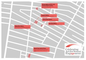 Walking Map for CWE Gallery Crawl